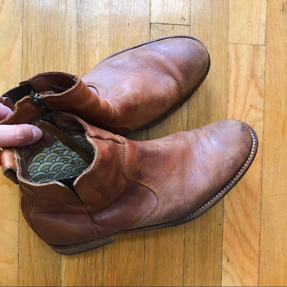 88ebe90c1ed boots, brand is H by Hudson, European 42 = 8.5